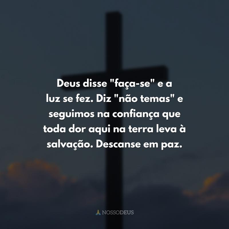 Deus disse